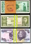 World (Bolivia, Paraguay, Uruguay) Group Lot of 189 Examples About Uncirculated-Crisp Uncirculated (Majority). Several consecutive examples; ink is se...