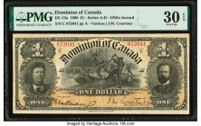 Canada Dominion of Canada $1 31.3.1898 DC-13a PMG Very Fine 30 EPQ.   HID09801242017  © 2020 Heritage Auctions | All Rights Reserved