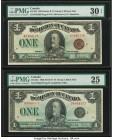 Canada Dominion of Canada $1 2.7.1923 DC-25i; DC-25n Two Examples PMG Very Fine 30 EPQ; Very Fine 25.   HID09801242017  © 2020 Heritage Auctions | All...