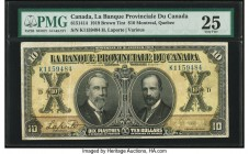 Canada Montreal, PQ- Banque Provinciale du Canada $10 31.1.1919 Ch.# 615-14-14 PMG Very Fine 25.   HID09801242017  © 2020 Heritage Auctions | All Righ...