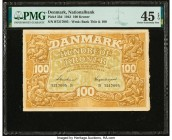 Denmark National Bank 100 Kroner 1943 Pick 33d PMG Choice Extremely Fine 45 EPQ.   HID09801242017  © 2020 Heritage Auctions | All Rights Reserved
