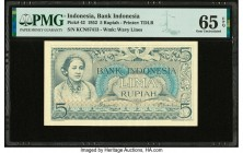 Indonesia Bank Indonesia 5 Rupiah 1952 Pick 42 PMG Gem Uncirculated 65 EPQ.   HID09801242017  © 2020 Heritage Auctions | All Rights Reserved