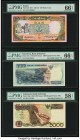 Fancy Serial Number Lot of 5 Indonesia Bank Indonesia 1000; 5000; 10,000 (2); 20,000; 50,000 Rupiah 1992 (1994 issue); 1992 (1998 issue); 1992 (1995 i...