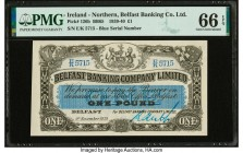 Ireland - Northern Belfast Banking Company Limited 1 Pound 9.11.1939 Pick 126b PMG Gem Uncirculated 66 EPQ.   HID09801242017  © 2020 Heritage Auctions...