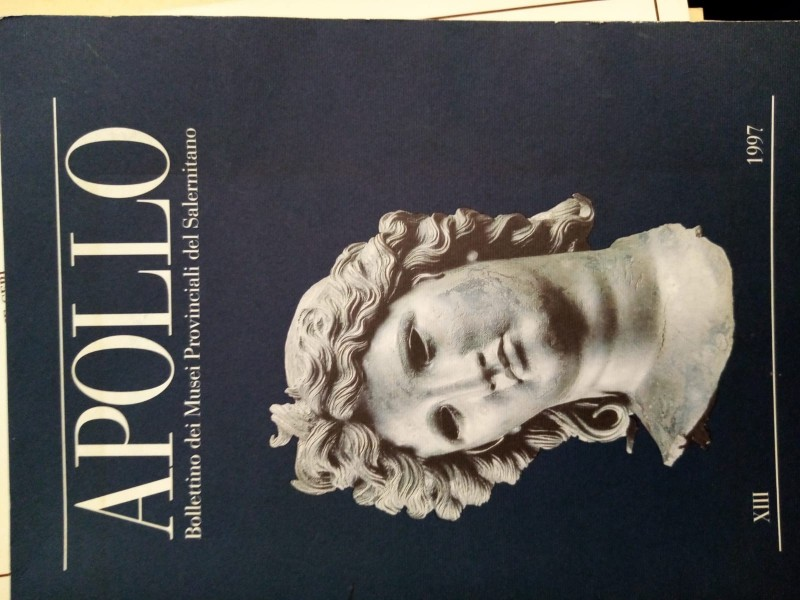 APOLLO - Bollettino dei Musei provinciali del Salernitano. Volume n. XIII, Anno ...