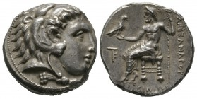 Cyprus, Kition, Pumiathon (c. 362/1-312 BC), Tetradrachm, in the name and types of Alexander III of Macedon, Kition, c. 325-320 BC, 17.02g, 25mm. Head...