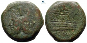 after 211 BC. Uncertain mint. As Æ