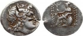 KINGS OF THRACE (Macedonian). Lysimachos (305-281 BC). Tetradrachm. Parion. Obv: Diademed head of the deified Alexander right, wearing horn of Ammon. ...