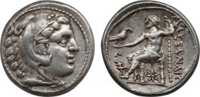 KINGS OF MACEDON. Alexander III 'the Great' (336-323 BC). Tetradrachm. Amphipolis. Obv: Head of Herakles right, wearing lion skin. Rev: AΛΕΞΑΝΔΡΟΥ. Ze...