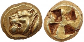 MYSIA. Kyzikos. EL Hekte (Circa 550-450 BC).
