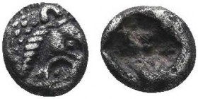 KINGS OF LYDIA. Time of Cyrus to Darios I (Circa 550/39-520 BC). 1/48 Stater. Sardes.