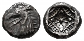 Caria. Kindya. Diobol. 510-480 BC. (Rosen 617; Keckman 920). Ag. 2,01 g. Choice VF/Almost XF. Est...320,00.   SPANISH DESCRIPTION: Caria. Kindya. Diób...