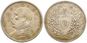 China Republic 1912-1949 Dollar, 1914, AG 26.71 g. Ref : KM#Y#329 Conservation : Superbe