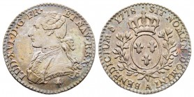 France Louis XVI 1774-1792 1/10 Écu, Paris, 1778 A, AG 2.90 g. Ref : G.356 Conservation : TTB+