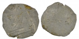 Belgium. Lower Lorraine. Albert II 1031-1064. AR Denar (17.5mm, 0.71g). Namur mint. AL[BERTVS], diademed bust left / [T] / MONE / [A] , three-line leg...