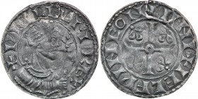 England. William I the Conqueror. 1066-1087. AR Penny (19mm, 1.35 g , 3h). Profile Right type (BMC VII). London mint; moneyer Ælfwine. Struck circa 10...