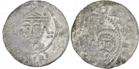 Germany. Lower Saxony. Goslar. Heinrich III 1046-1056. AR Denar (17mm, 0.81g) [HENRICVS IMPR], crowned bust facing / [S - SIMON ]S - S I[VDAS], adjace...