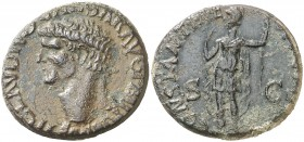 (41-42 d.C.). Claudio. As. (Spink 1857) (Co. 14) (RIC. 95). 12,87 g. MBC.
