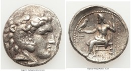 MACEDONIAN KINGDOM. Alexander III the Great (336-323 BC). AR tetradrachm (27mm, 16.84 gm, 2h). VF. Posthumous issue of uncertain mint, ca. 310-280 BC....