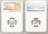 MACEDONIAN KINGDOM. Philip III Arrhidaeus (323-317 BC). AR drachm (17mm, 1h). NGC XF. Lifetime issue of Magnesia ad Maeandrum, ca. 323-319 BC. Head of...