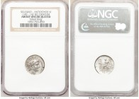SELEUCID KINGDOM. Antiochus VI Dionysus (144-142 BC). AR drachm (17mm, 12h). NGC AU. Antioch on the Orontes, dated Seleucid Era 170 (143/2 BC). Diadem...