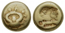 Greek, Lesbos, c. 521-478 BC, EL Hekte, Mytilene
