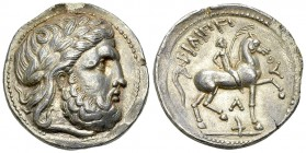 Eastern Celts AR Tetradrachm 