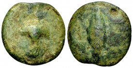 Central Italy AE cast semuncia, c. 280-260 BC 