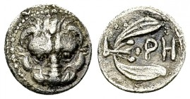 Rhegion AR Litra, c. 425-420 BC 