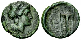Rhegion AE14, c. 260-215 BC 