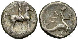Tarentum AR Nomos, c. 272-240 BC 