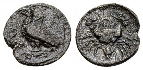Akragas AR Litra, c. 425-406 BC 