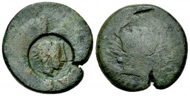 Akragas AE Hemilitron, Punic occupation 