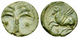 Siculo-punic AE Unit, c. 400-350 BC 