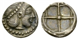 Syracuse AR Litra, c. 480-470 BC 