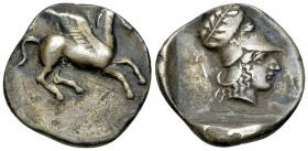 Ambracia AR Stater, c. 426-404 BC 