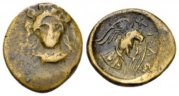 Chalkis AE15, c. 338-308 BC 