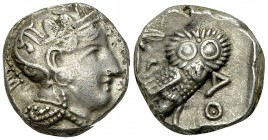 Athens AR Tetradrachm, c. 350 BC 