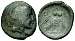 Athens AE21, c. 224/3-198 BC 
