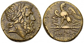 Amisos AE27, time of Mithradates VI 