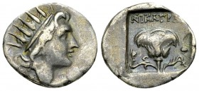 Rhodos AR Drachm, c. 88-84 BC 