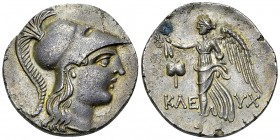 Side AR Tetradrachm, c. 183-175 BC 