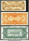 Argentina Group Lot of 3 Back Proofs Extremely Fine-Crisp uncirculated.   HID09801242017  © 2020 Heritage Auctions | All Rights Reserved