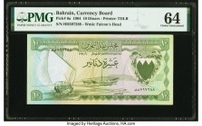 Bahrain Currency Board 10 Dinars 1964 Pick 6a PMG Choice Uncirculated 64.   HID09801242017  © 2020 Heritage Auctions | All Rights Reserved