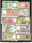 World (Bangladesh, Ceylon, Macau & More) Group Lot of 13 Examples About Uncirculated-Crisp Uncirculated. Pinholes on one example.  HID09801242017  © 2...