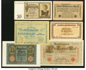 World (Belgium, Hungary, Yugoslavia & More) Group Lot of 11 Examples Very Fine-Extremely Fine. Tape Residue of 5 Schillings.  HID09801242017  © 2020 H...