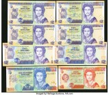 Belize Central Bank Group Lot of 8 Examples Crisp Uncirculated.   HID09801242017  © 2020 Heritage Auctions | All Rights Reserved
