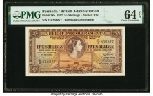 Bermuda Bermuda Government 5 Shillings 1.5.1957 Pick 18b PMG Choice Uncirculated 64 EPQ.   HID09801242017  © 2020 Heritage Auctions | All Rights Reser...