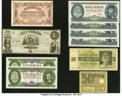 Bohemia and Moravia, Danzig and Hungary Group Lot of 14 Examples Very Good-Crisp Uncirculated.   HID09801242017  © 2020 Heritage Auctions | All Rights...
