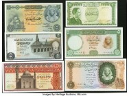 Egypt Group Lot of 7 Examples Crisp Uncirculated.   HID09801242017  © 2020 Heritage Auctions | All Rights Reserved